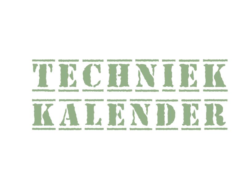 techniek kalender